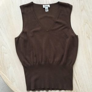 Lilly Pulitzer silk/cotton sleeveless shell M